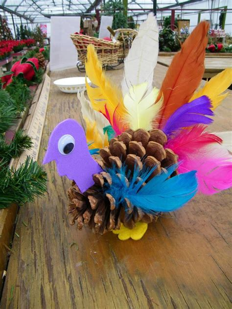 pinecone turkey craft 1000 ideas about pinecone crafts on