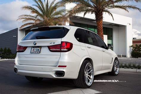 custom bmw x5 alpine white bmw x5 adv005 track spec cs wheels adv 1