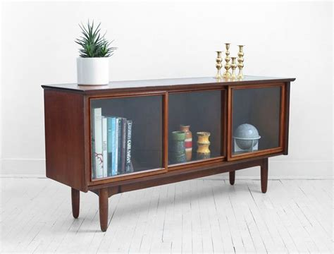 Glass Credenza on hold until october 4th mid century glass credenza modern wood