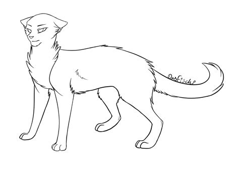 cat drawing template f2u cat lines by dasfischi on deviantart