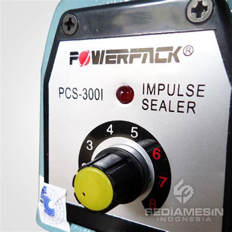 Penyegel Plastik Sealer Powerpack Pcs 300c Untuk Usaha sealer powerpack pcs 3001