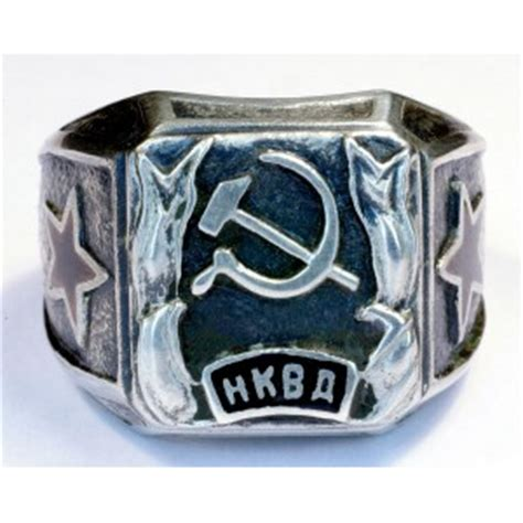 Rice Mba Class Ring by Soviet Army Officer S Ring Soviet Nkvd Officer S Ring
