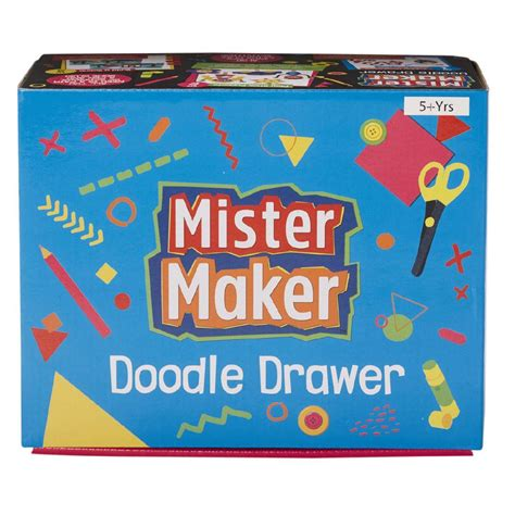 Doodle Drawers by Mister Maker Doodle Drawers Blue Pink The Warehouse