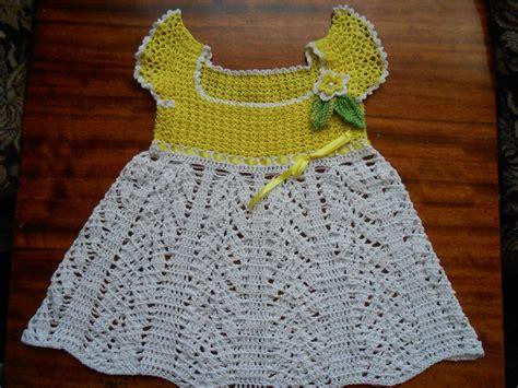 tejidos elegantes de crochet vestido tejido en crochet para bebe 1 a 241 o youtube