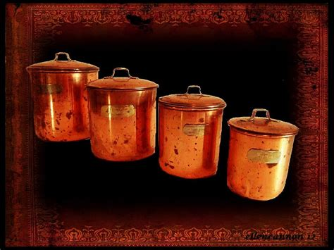 copper canister set kitchen s kitchen copper canister set photograph by