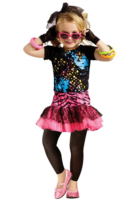 80s pop toddler costume