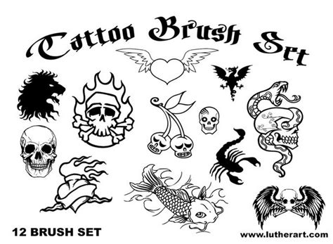 tattoo templates for photoshop 20 realistic photoshop tattoo brushes