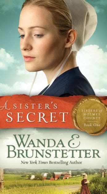 libro my secret sister a sister s secret sisters of holmes county series 1 by wanda e brunstetter paperback