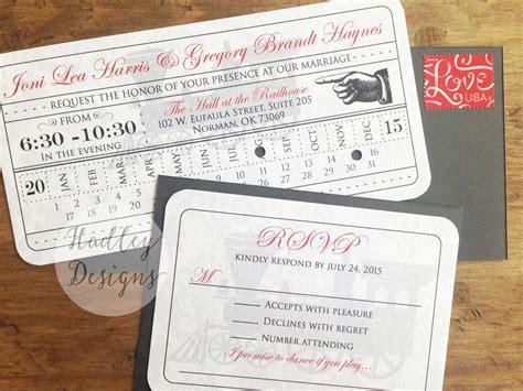 91 train ticket wedding invitation template medium size