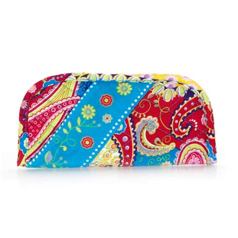 free pattern quilted eyeglass case quilted eyeglass case holder neon paisley pattern