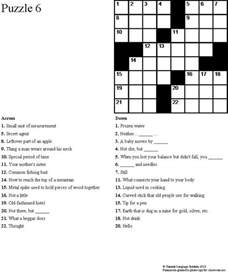 Summit language institute easy esl crossword puzzles book 1
