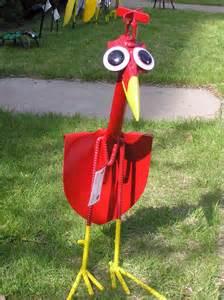 yard bird garden sculptures your small kitchen garden