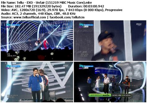 download mp3 exo unfair download perf exo unfair mbc music core 151219