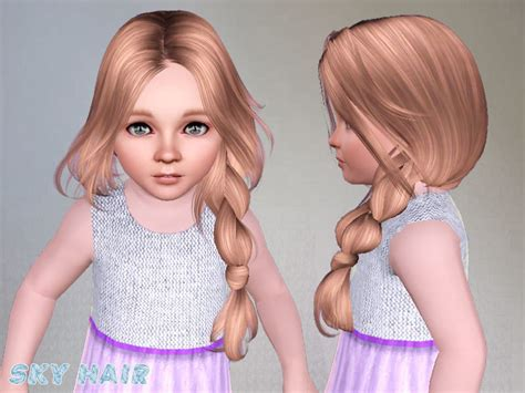 tsr kids hair skysims hair toddler 250 po