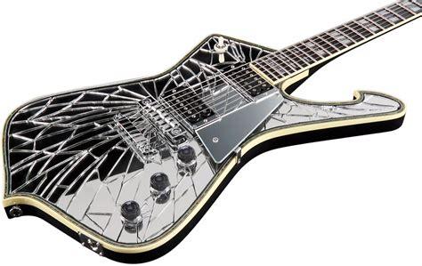 tutorial guitar mirror ibanez paul stanley signature series cracked mirror