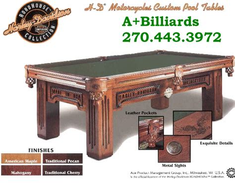 Harley Davidson Pool Table by Harley Davidson Pool Table