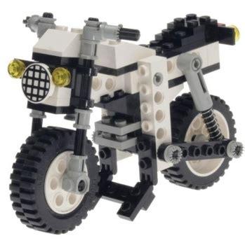 1 Zylinder Motorrad by Lego Technic 8810 1 Zylinder Motorrad Decotoys