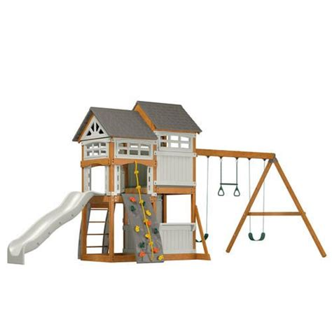 menards swing sets suncast backyard play set at menards 1 400 play set