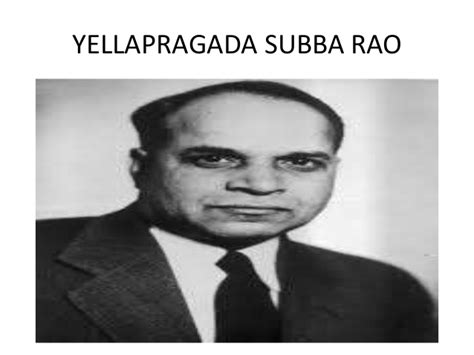 yellapragada subbarao biography in english indian scientists