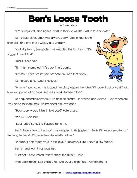 printable english worksheets for third grade comprehension worksheets for 3rd grade 3rd grade