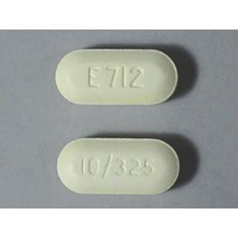 percocet 174 brand e 712 10 325mg 60 pills s pharmacy