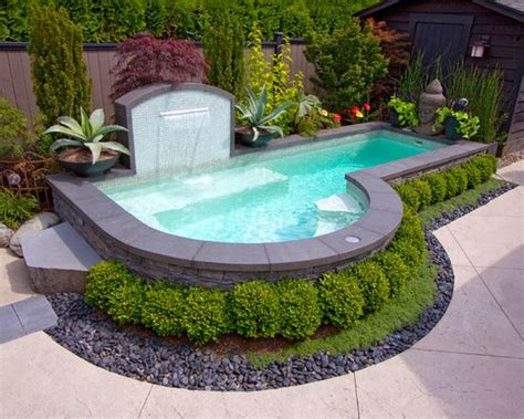 tiny pool spruce up your small backyard with a swimming pool 19