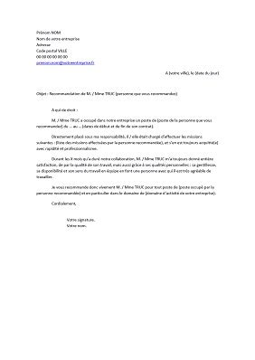 Lettre De Recommandation Professionnelle Rh lettre de recommandation professionnelle exemples de cv