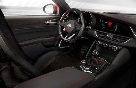alfa romeo giulia interior first drive alfa romeo giulia quadrifoglio automobile