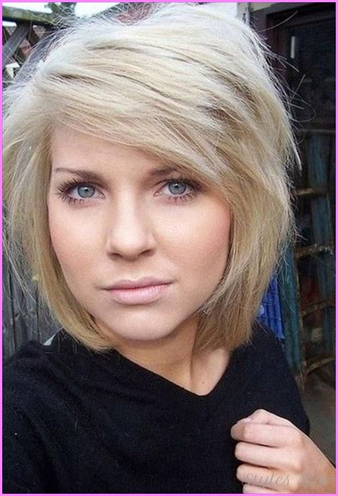 medium hairstyles for thick hair without bangs bob haircuts with bangs stylesstar