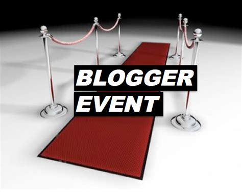 Blogger Events | tuesday tips secrets to a successful blogger event
