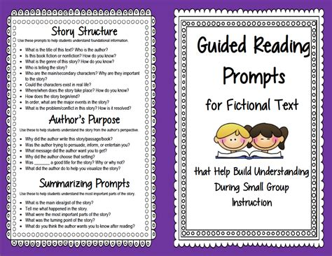 biography book club questions guided reading prompts and questions to improve