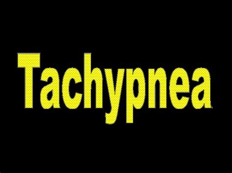 breathing fast and shallow tachypnea rapid shallow breathing