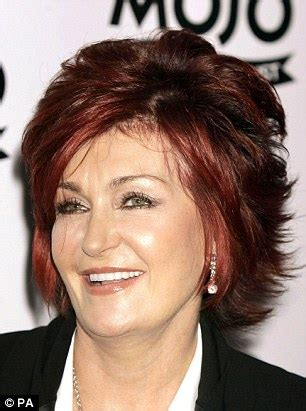 what does sharon ozbournes hair look like in the back x factor s sharon osbourne rocks a biker chic look in