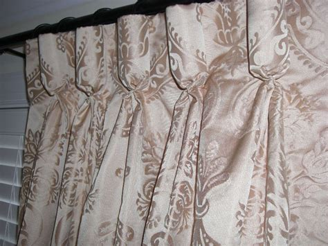 peach silk curtains custom made drapes silk cotton damask curtains golden