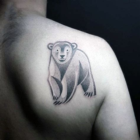 polar bear tattoo 60 polar designs for arctic ink ideas
