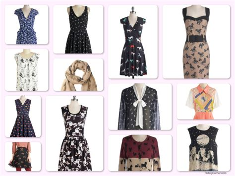 themes of clothing horse theme vintage style clothes accessories