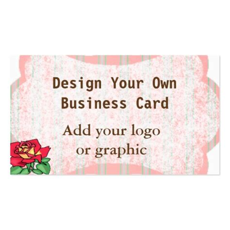make own card design your own business card zazzle