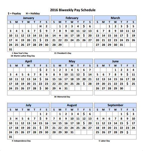 Calendar 2018 Calculator Free Payroll Calendar 2016 Biweekly Template Calendar