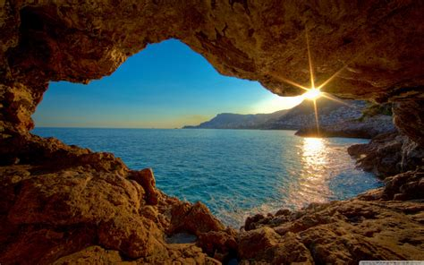 pc wallpapers nature hd wallpaper cave sea cave download hd wallpapers for desktop