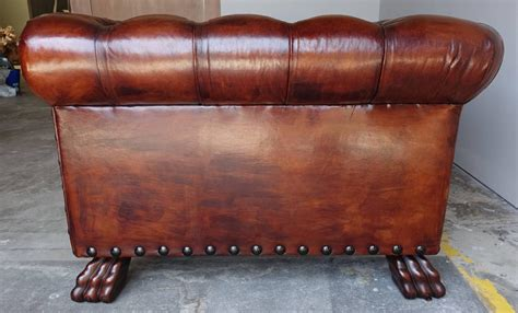 leather sofa with nailhead trim monumental chesterfield leather sofa with nailhead trim at