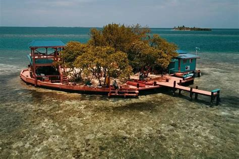 bird island placencia airbnb will let you rent your own off the grid caribbean