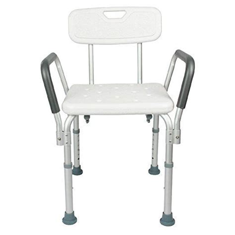 Handicap Stool by Shower Chairs Height Adjustable Seat Stool Bath Tubs Grip