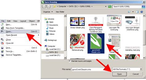 format file corel how to open a file coreldraw x7 in all versions x3 x4 x5