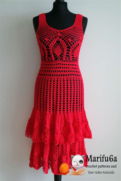 Pattern Dress Crochet | crocheted dress patterns just in time for christmas
