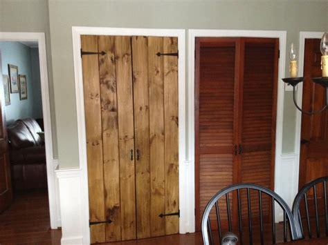 rustic pine pantry doors  chrisstef  lumberjockscom