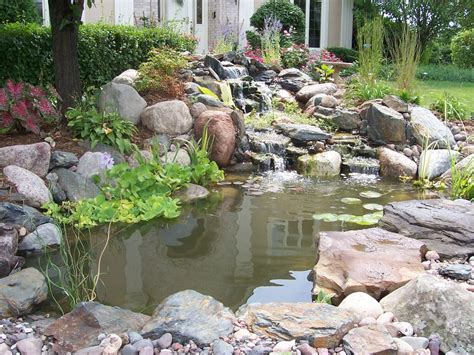 backyard pond waterfalls best backyard ponds home design lover