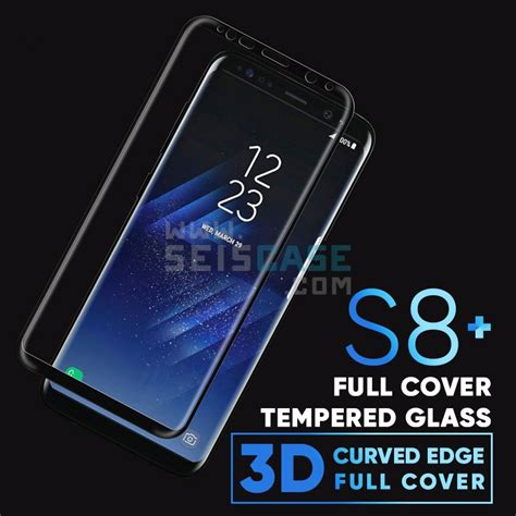 Tempered Glass 3d Samsung Galaxy S8 Curve Cover Anti Gores cover screen 3d arc curve edge cover tempered glass samsung galaxy s8 s8plus