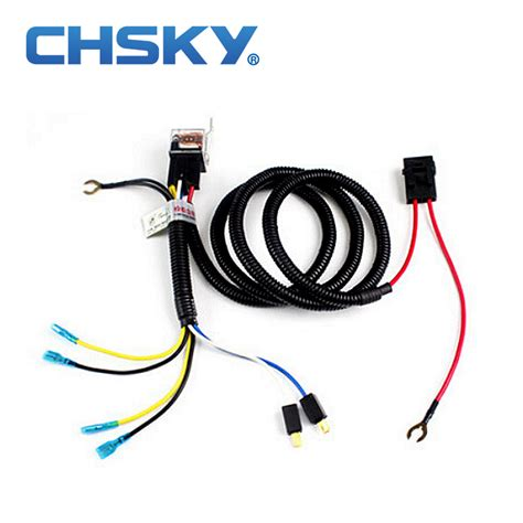 chsky car klaxon horn relay harness 12v car styling parts