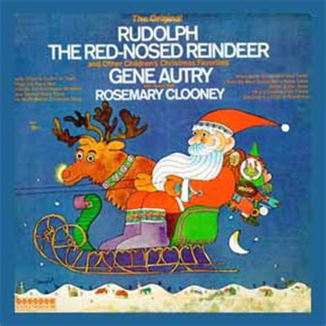 rosemary clooney albums value autry gene rudolph the red nosed reindeer original and