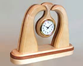 cool desk clocks unique unusual handcrafted wooden desk clock for the